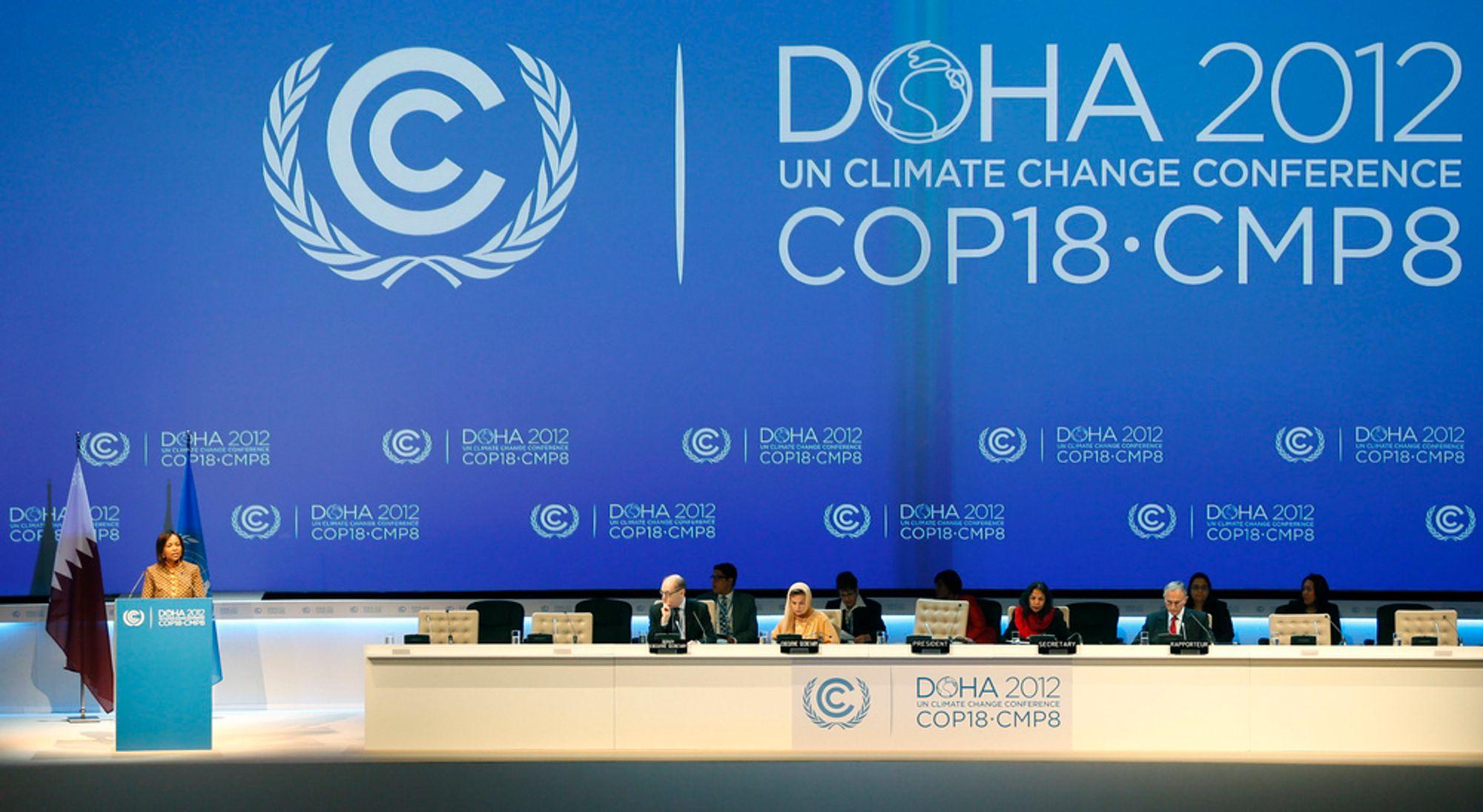 I dag starter klimatoppmøtet i Doha i Qatar. Olje- og gassnasjonen har en av verdens største utslipp per innbygger.