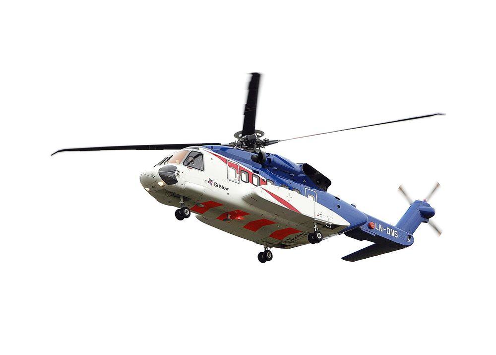Syke: Fem piloter har mistet retten til å fly og mange har blitt syke etter at Bristow Norway begynte å fly S-92 i Nordsjøen.
