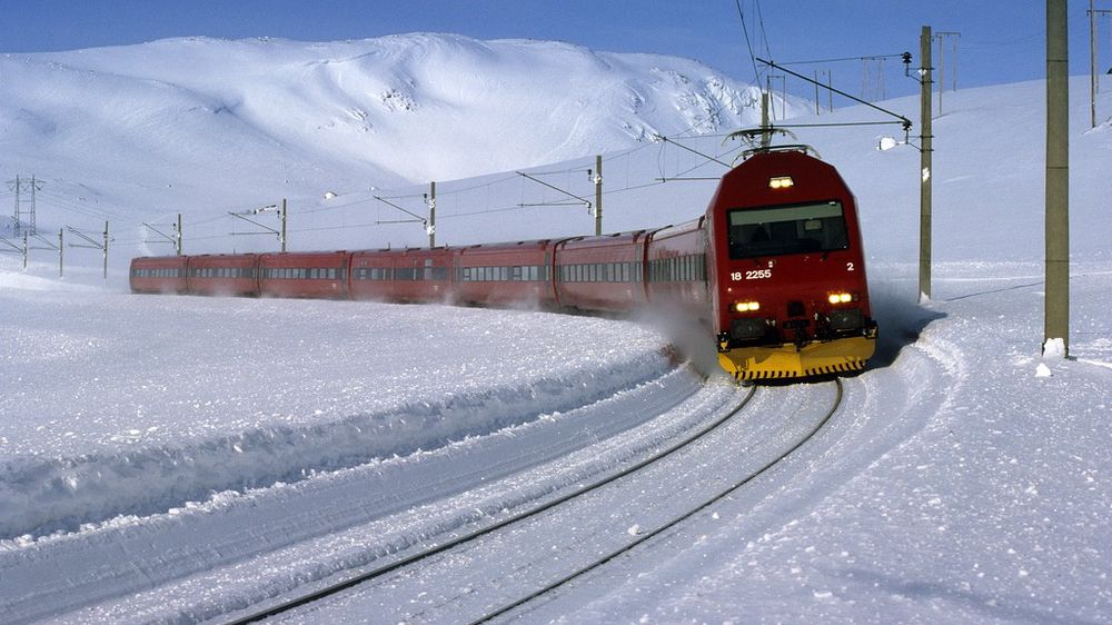 Bergensbanen kan kjøre fra Oslo til Bergen på under fire timer dersom banen rustes opp for 50 milliarder, og dropper de fleste stoppestedene.