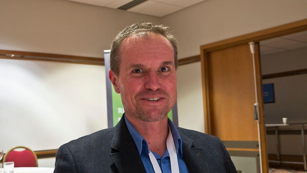 KAMPVILLIG: Dell har en voldsom vekst i lagringsmarkdet i lavende- og midsjiktet og det skal de fortsette med, mener sjefen selskapets lagringsaktivitet i Eurpa, Midtøsten og Afrika, John Everett.