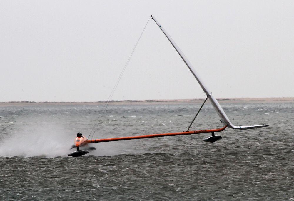 Vestas Sailrocket 2 er verdens raskeste seilbåt.
