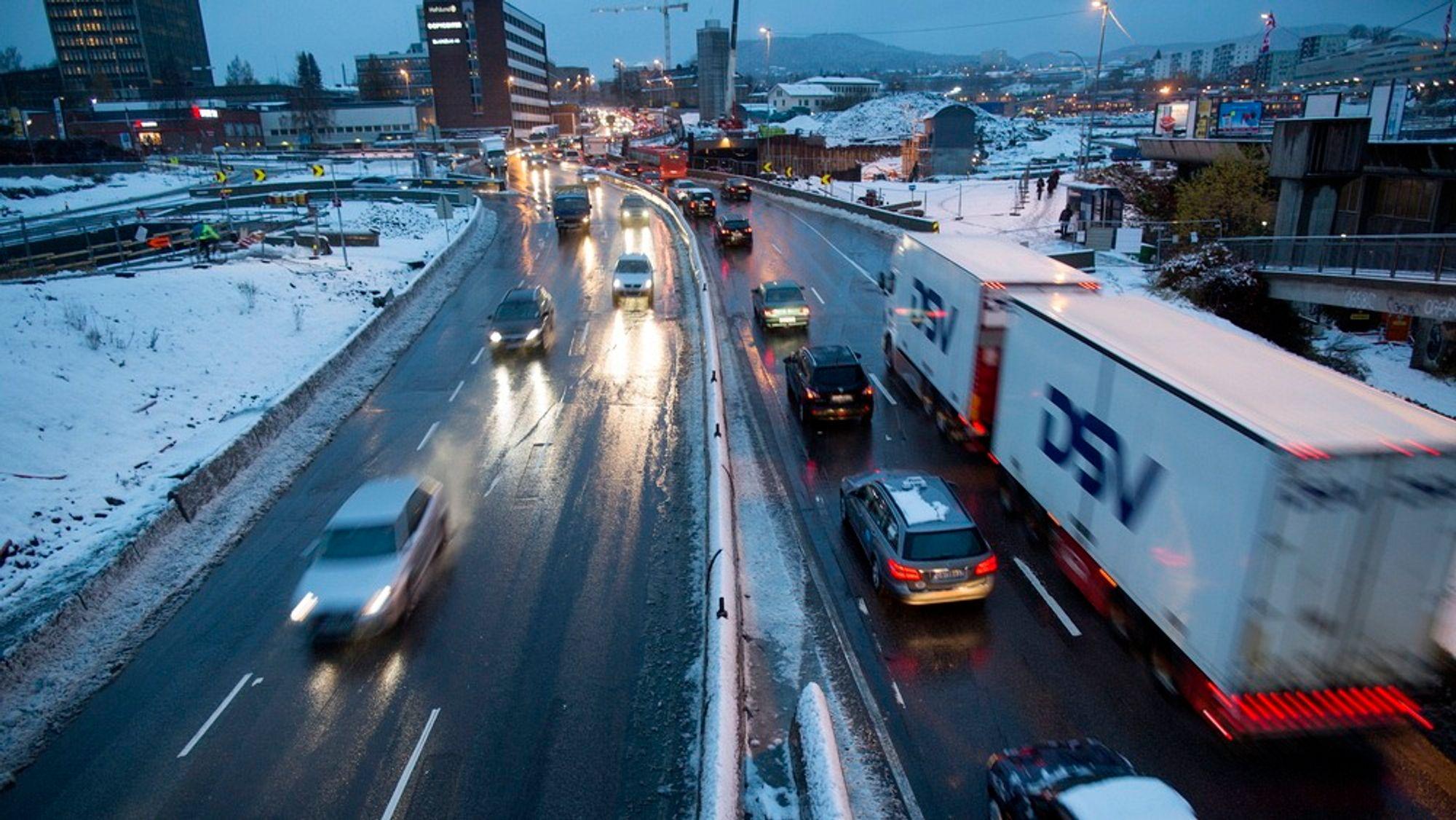 Reisetid-systemet registrerer tettheten i trafikken ved hjelp av Autopass-brikken i bilen din. Dermed kan du sjekke trafikken før du kjører.