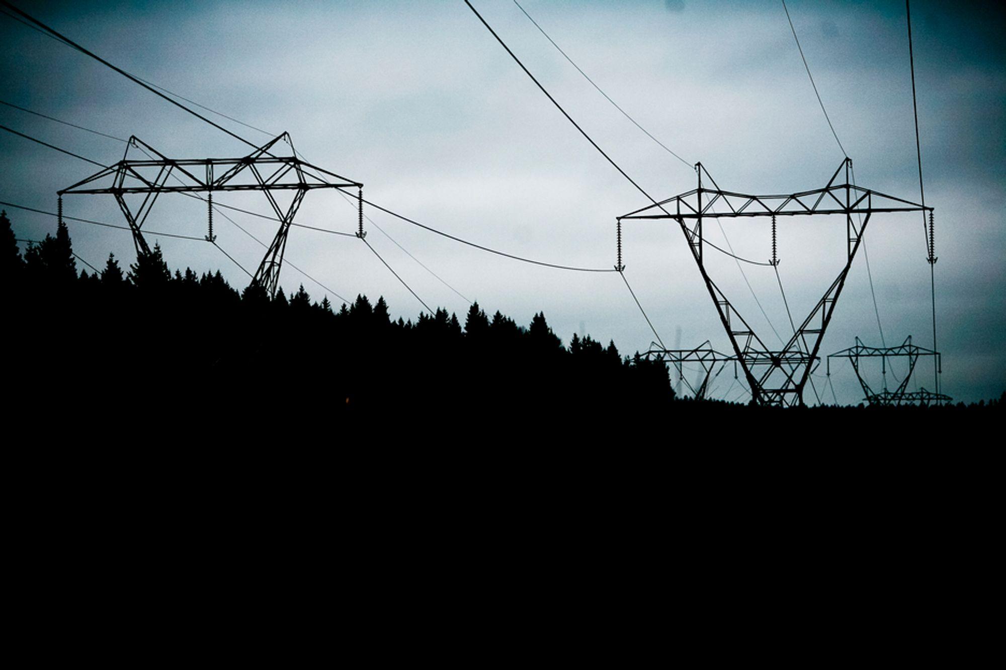 """""""Monstermaster"""" blir på nytt et begrep når Statnett skal totalrenovere kraftnettet i hovedstadsområdet. Her fra Sognsvann."""
