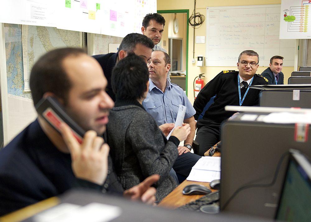 MOTANGREP: Under ukens Nato-øvelse Cyber Coalition får Nato testet verktøyet i sin nye strategi for motangrep. Bildet er fra Cyber Coalition i 2010.