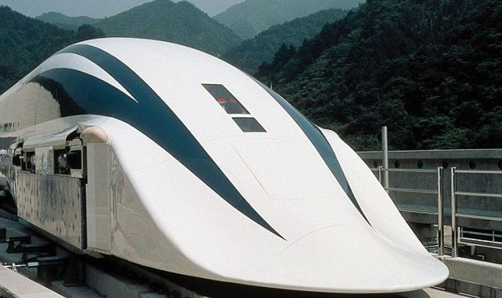 Japan avduket nylig protoypen av sin kommende maglev-togserie.