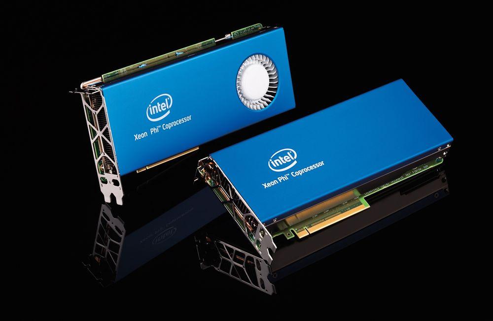Rask som fy: Intels nye coprosessorkort for superdatamskiner skal få opp farten på slike regnemonstre. Det og mere til må til om selskapet skal klare å levere innmaten i maskiner som Intel tror vil yte en exaflop/s i 2018. Det er 10 i attende potens flyttalloperasjoner i sekundet.