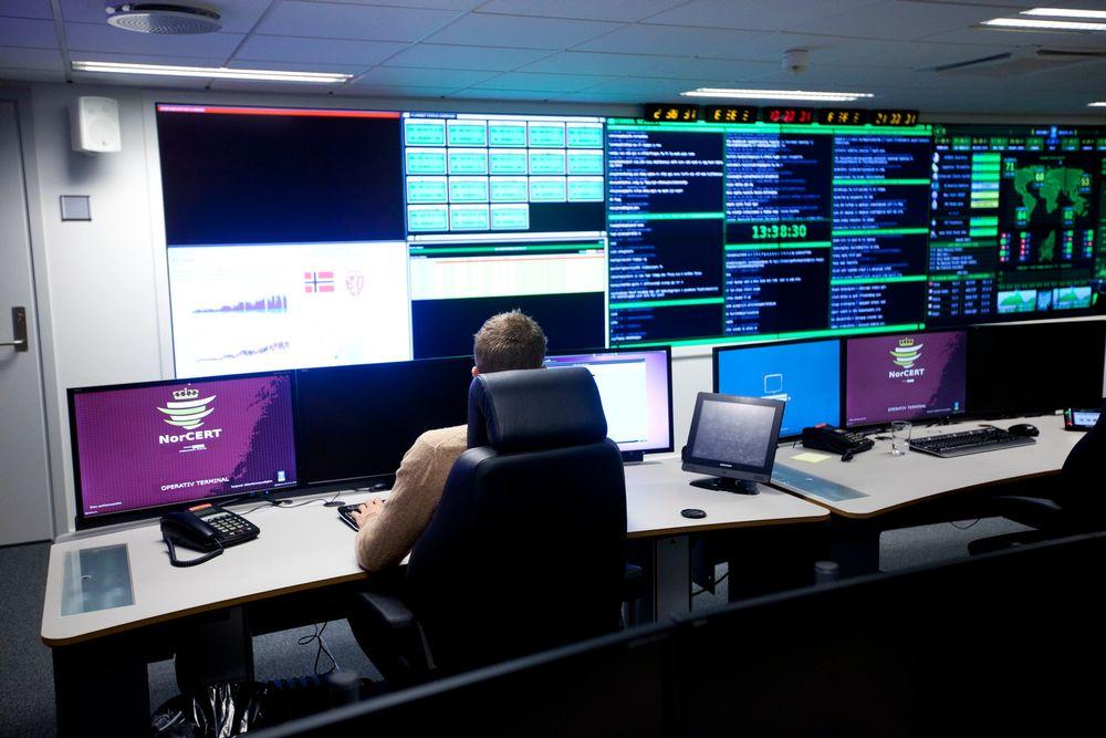 Fra operasjonssenteret til Norcert håndteres alvorlige IKT-angrep mot kritisk infrastruktur og informasjon i Norge.