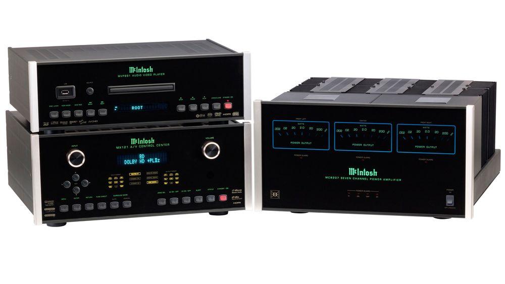 McIntosh MX-121 og MC-8207 gir store opplevelser i hjemmekinoen.