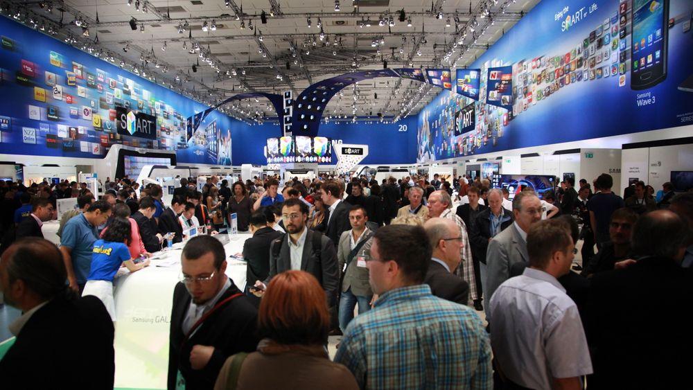 IFA-messen arrangeres i Berlin 6. - 11. september 2013.