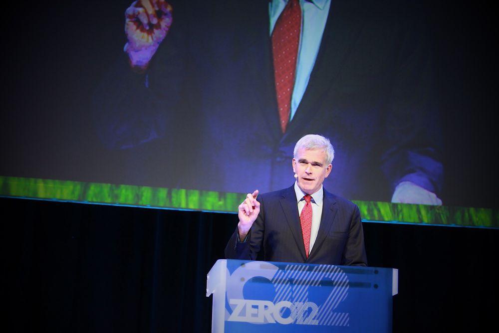 Investorene må gå foran i omleggingen til et klimanøytralt samfunn, sa tidligere Goldman Sachs-topp David Blood på Zero-konferansen i dag.