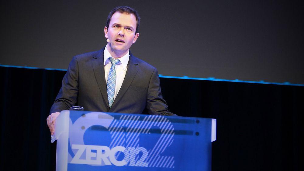 Leder Marius Holm i Zero vil at Oljefondet skal bli fornybart.