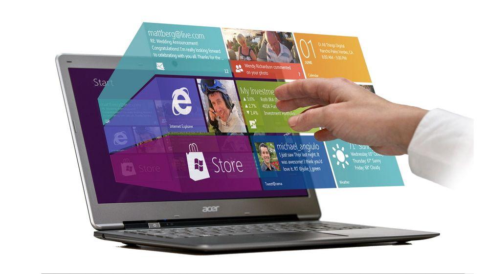 –  Vår teknologi gjør Windows 8 berøringsfri, sier Elliptic-sjef Haakon Bryhni.