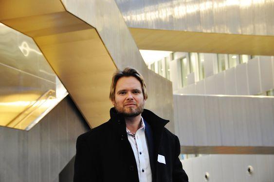 ARKITET FRA A-LAB: Odd Klev har jobbet med Statoil-bygget i over fire år.