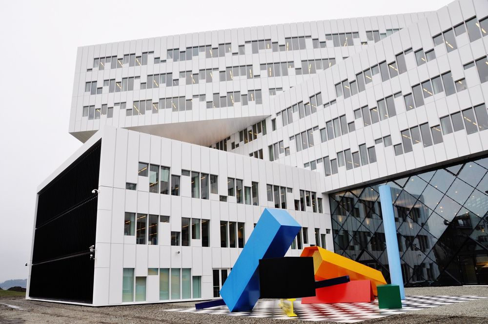 VANT PRIS: Statoils nye kontorbygg på Fornebu har vunnet Wan-award