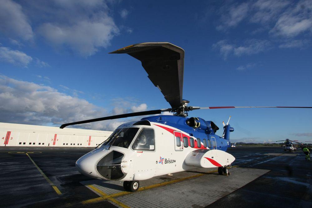 Rotorblader: S-92 har fire ekstra store rotorblader. Dette skaper mer støy enn fem mindreblader.