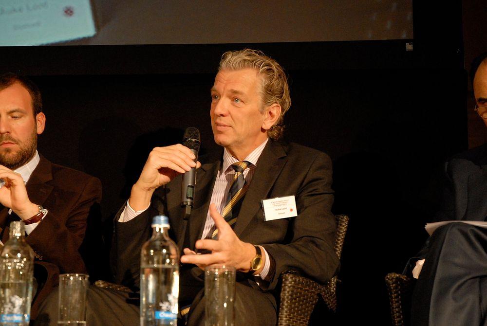 Statnett-sjef Auke Lont advarte mot EUs planer om økt toll på kraftoverføring under en konferanse i Brussel tirsdag.