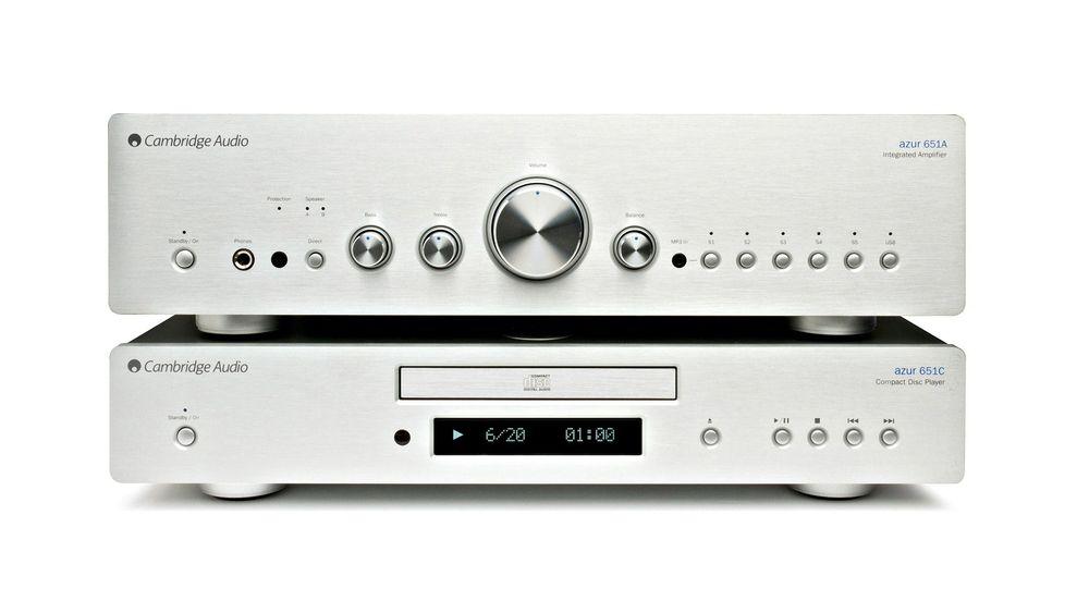 Cambridges kombinasjon av CD-spiller og stereoforsterker gir knallgod lyd til en billig penge.