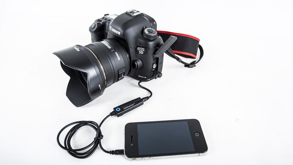 Slik kobler du et Canon-kamera til din iphone.