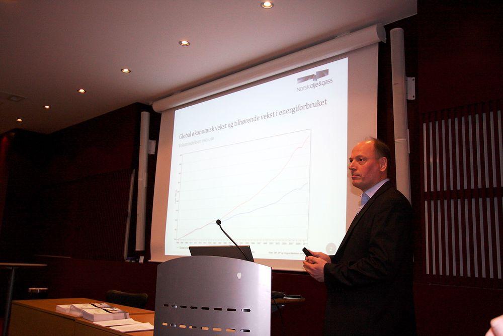 Bjørn Haral Martinsen, fagsjef økonomi i Norsk olje og gass, tror det vil være nok kapasitet til å dra unna de enorme investeringene som kommer på norsk sokkel.