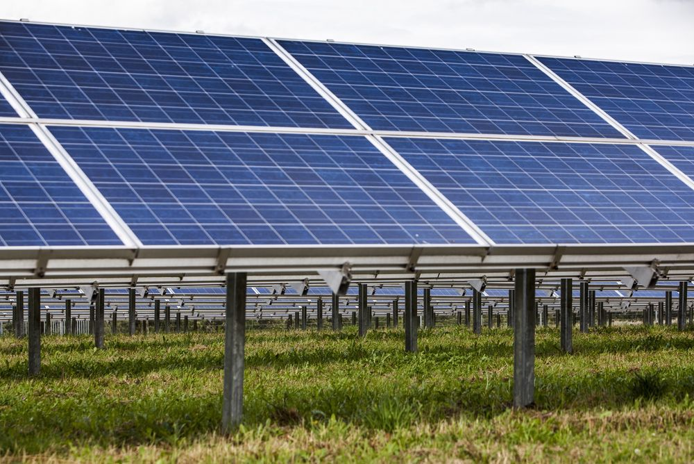 Solkraft: Tyskland har i årevis bygd ut solkraft og skal ha en fornybarandel på 35 prosent allerede i 2020. For å sikre forsyningen ønskes utveksling med norsk vannkraft.