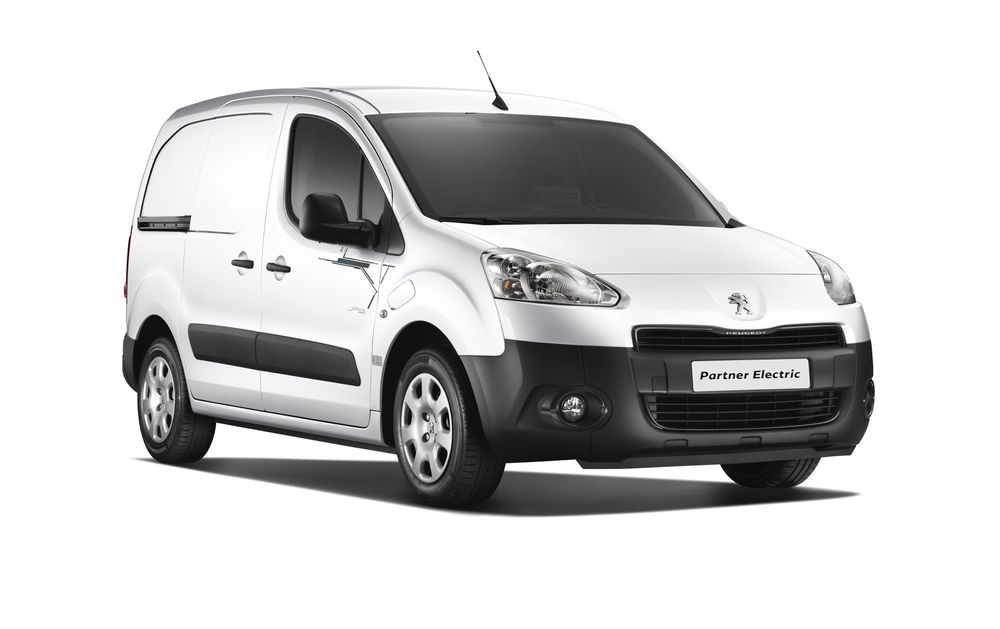 Peugeot Partner electric kommer til Norge i mars/april 2013.