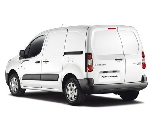 El-versjonen av Peugeot Partner kan frakte inntil 685 kilo nyttelast.