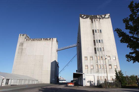 De gamle kornsiloene i Nordhavn skal bevares og integreres i den nye bygningsmassen.