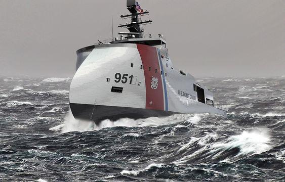 TØFF: X-Bow tåler godt røff sjø, hevder Ulstein og Vigor.