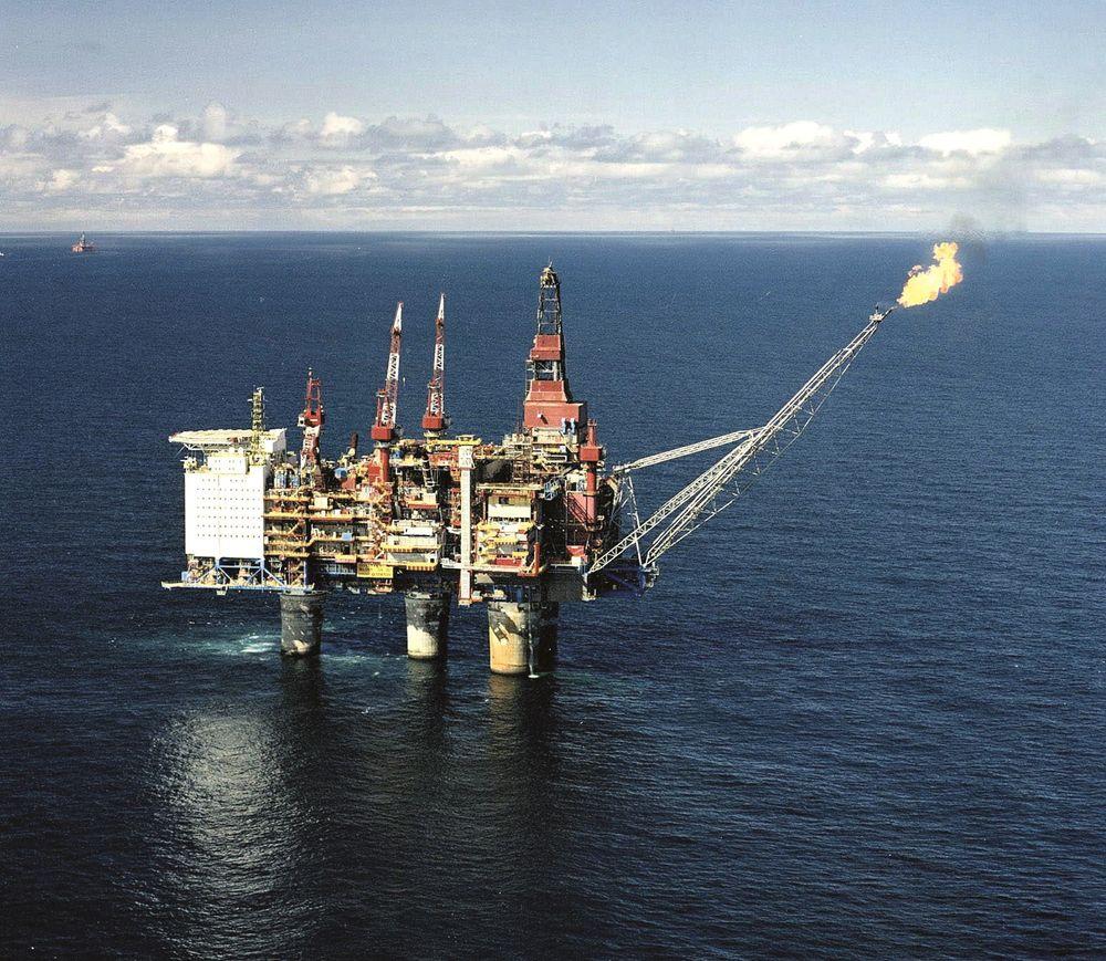 Nestenutblåsning: Gullfaks C-plattformen måtte evakueres i mai for to år siden da Statoil ifølge Petroleumstilsynet gjorde seg skyldig i en rekke regelbrudd som kunne ført til eksplosjon. Foto: Statoil