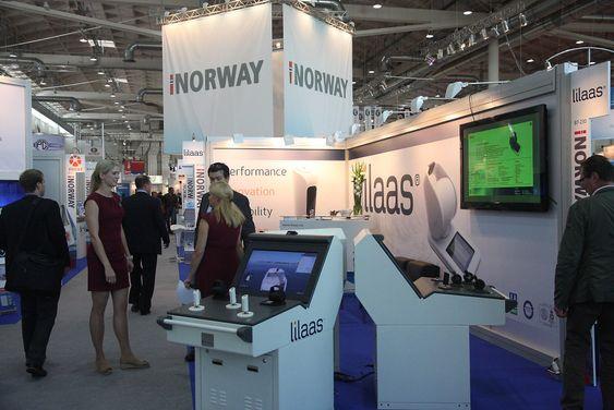 Den norske paviljongen er nummer tre i størrelse på SMM.