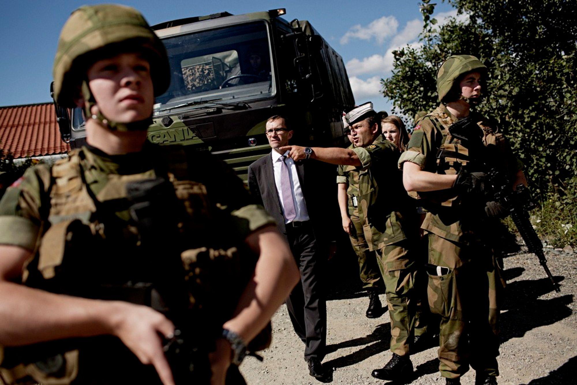 Forsvarsminister Espen Barth Eide sier at det nordiske forsvarssamarbeidet er mer omfattende enn noen kunne drømt om for bare ti år siden.