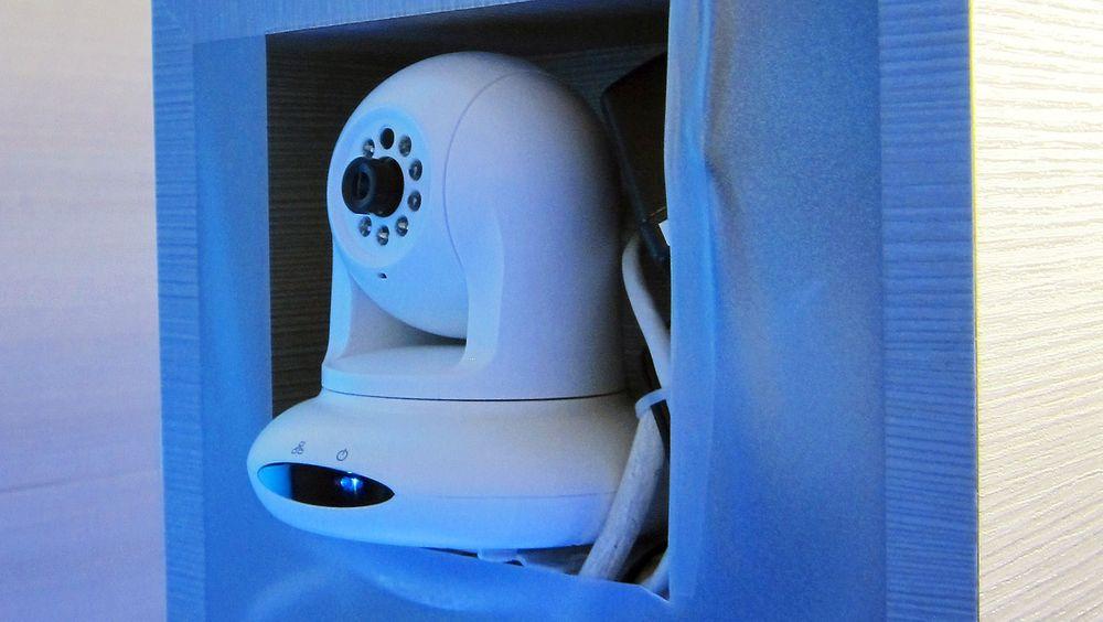 Babycall for TV-slaver: Grundigs nye TV-er kan kobles til fire styrbare kameraer over WiFi. Kommer det lyder eller bevegelser får TV-titterne opp det kameraet fanger opp på skjermen.