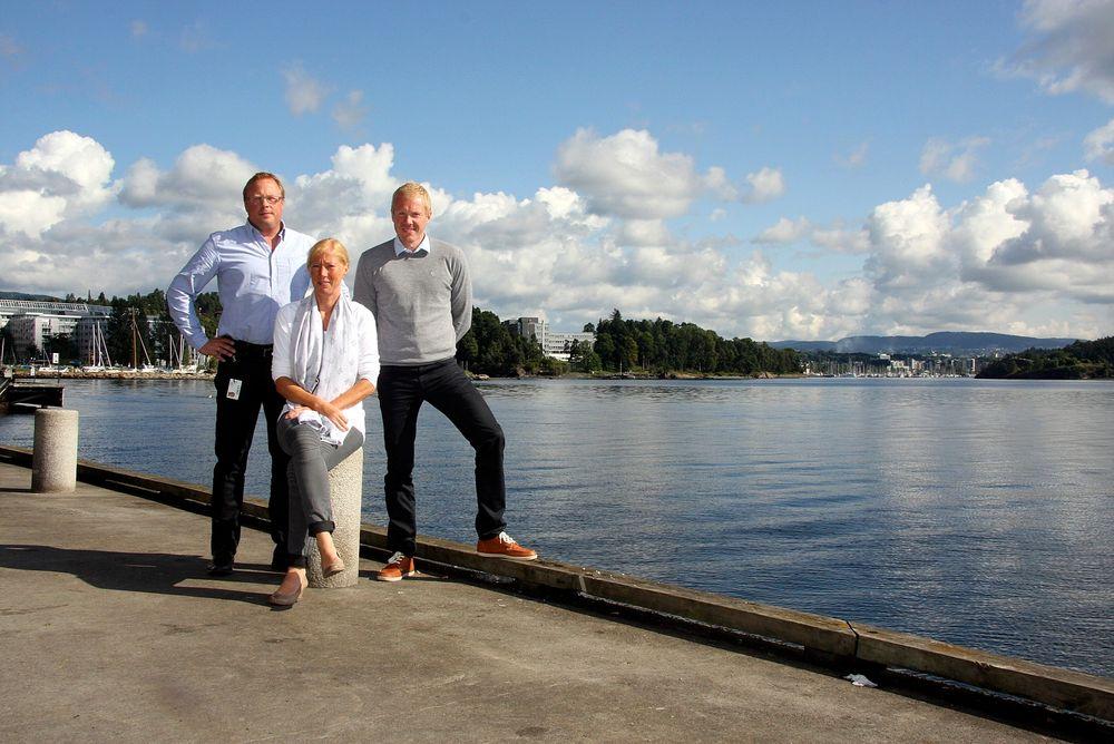 Ber om skjerping: Rådgivende ingeniørbedrifter må skjerpe seg. De ligger ikke der de bør som kompetente og innovative aktører i byggenæringen, mener Erik Rigstad, til venstre, Bente Dingen og Lars Pettersvold. Alle tre er selv rådgivende ingeniører.