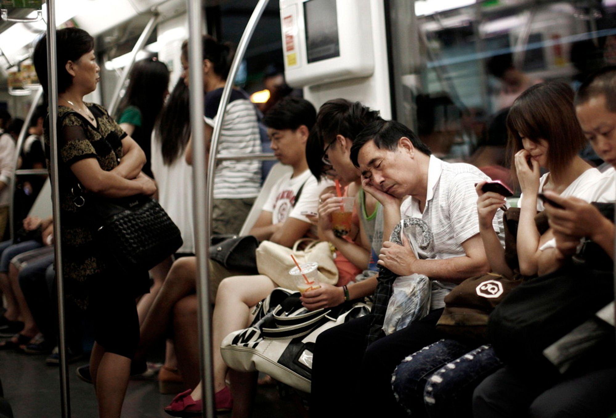 BLIR BEDRE: Kina skal ruste opp kollektivnettet for flere hundre milliarder kroner de neste årene.