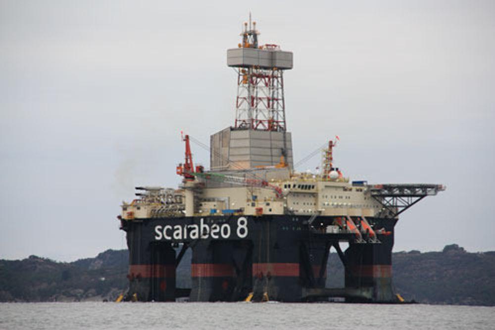 MANGE FEIL: Scarabeo 8 har hatt en rekke feil og mangler. FOTO: Ptil