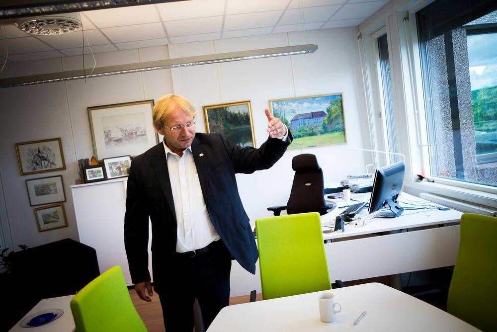 Ønsker vekst: Rune Kjølstad, ordfører i Røyken, ønsker å skape et større fagmiljø for ingeniører og sivilingeniører.