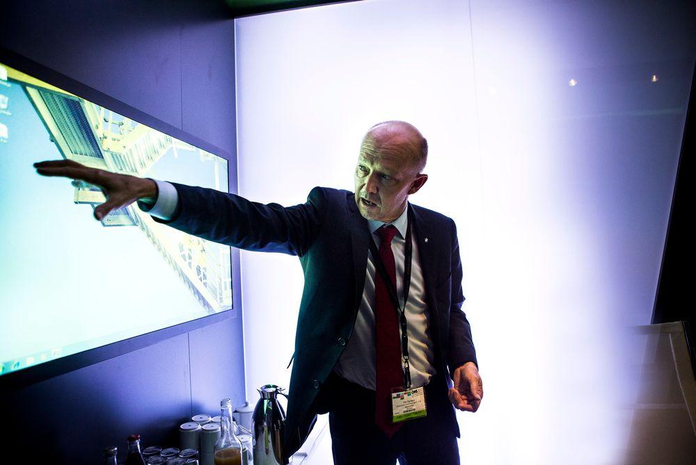 Statoils letesjef Tim Dodson sier det nå er forenlig med norsk utenrikspolitikk for Statoil å gå inn i Myanmar.