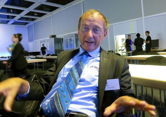Energisk energisparer:François Lacôte i Alstom er mannen bak de franske høyhastighetstogene. Nå vil han bruke høyteknologi for å tyne mest mulig transport ut av hver kilowattime.