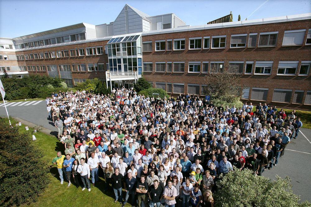 Multinasjonalt: FMC på Kongsberg har 49 nasjoner representert blant sine ansatte på Kongsberg.