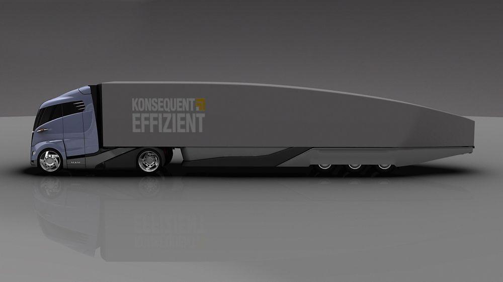 Den aerodynamiske traileren bruker 25 prosent mindre drivstoff enn dagens løsninger.
