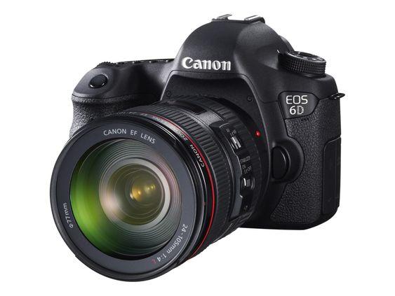 EOS 6D: Canons nye speilrefles i mellomsegmeentet har påde WiFi og GPS