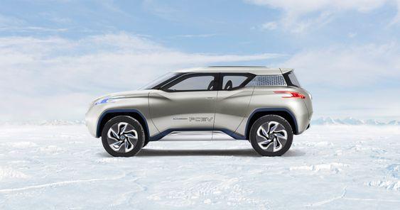 Konseptbilen Nissan TeRRA FCEV.