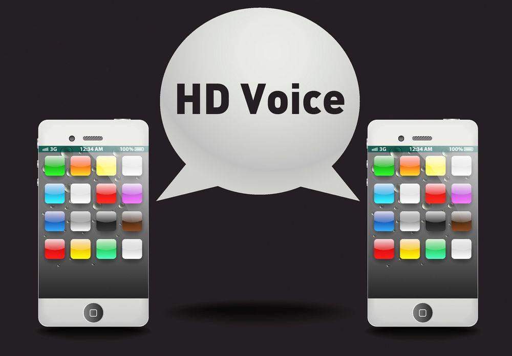 HD Voice illustrasjon