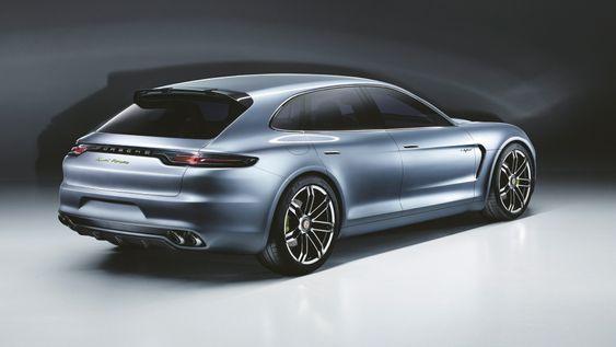Konseptstudien Panamera Sport Turismo demonstrerer teknologien som vil komme i Porsches kommende ladbare hybrider.