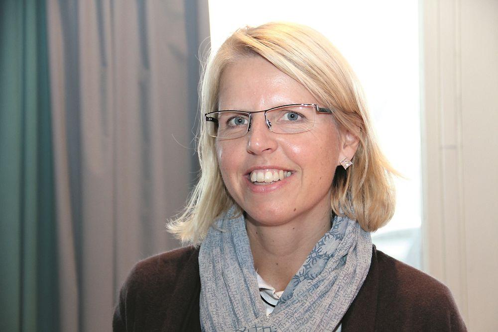 NUMMER TRE: Anne-Merete Gile var ferdig på NTNU i 1996. Ryfast blir hennes tredje tunnel.