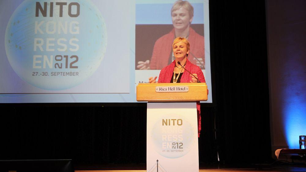 Valgprosessen for nytt NITO-styre var en het potet under starten av årets NITO-kongress.