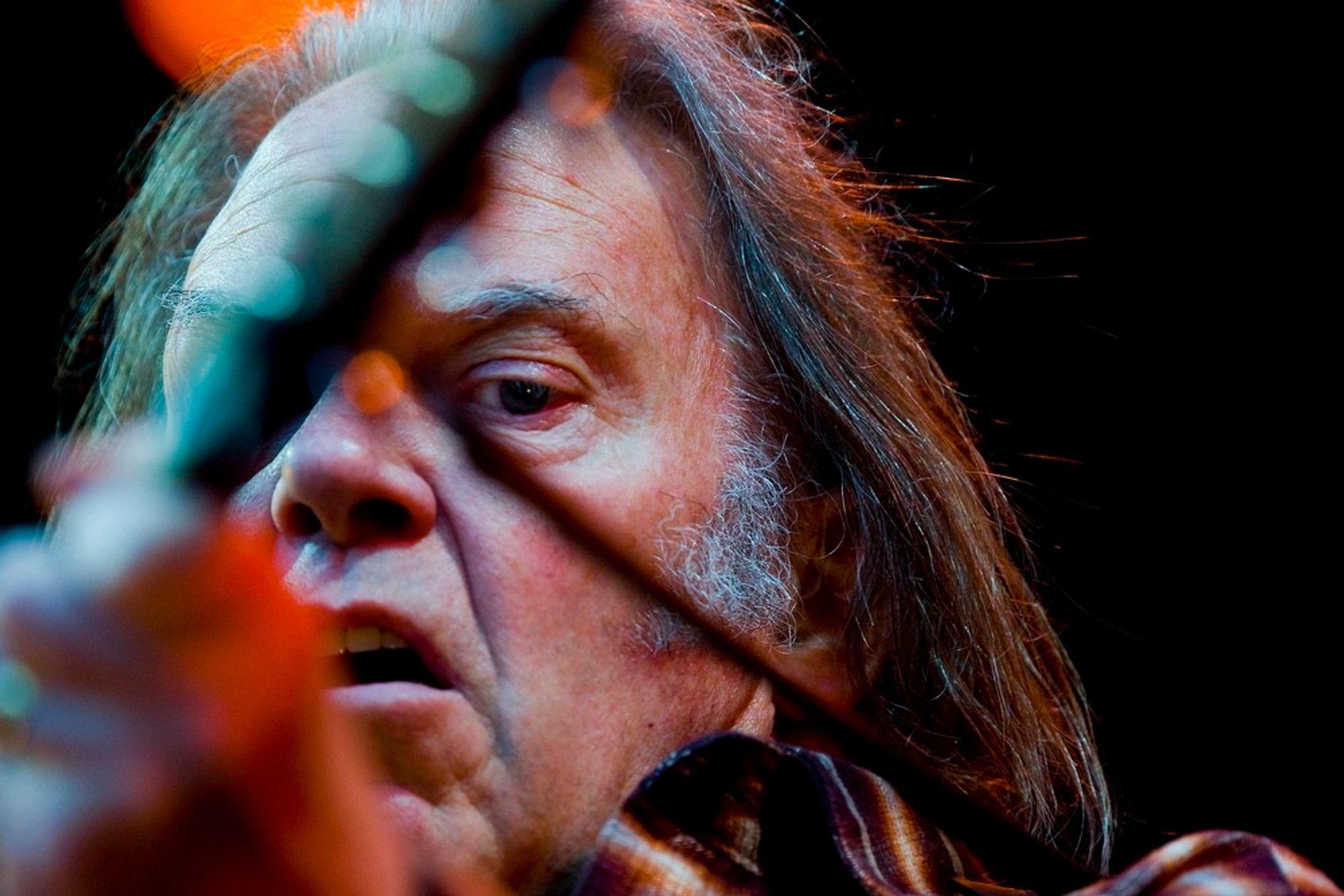 SATSER PÅ PONO: Neil Young er lei av at mp3 forflater lydopplevelsen, og lanserer derfor et rikere musikkformat.