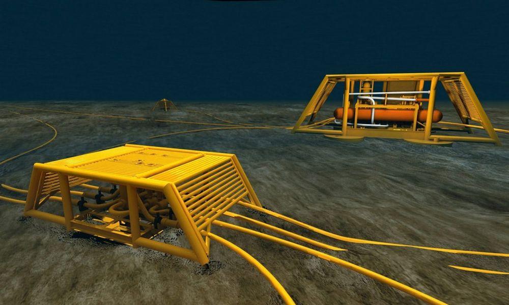 FMC Technologies har lang erfaring med leveranser av undervannsutstyr, som her på Tordis, til Statoil.