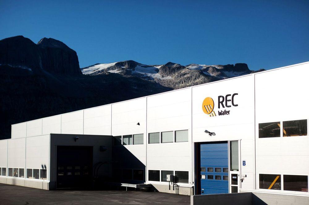 HELT FERDIG: Rec i Norge er konkurs, og nå skal konkursboet selges. Her den nedlagte fabrikken i Glomfjord.