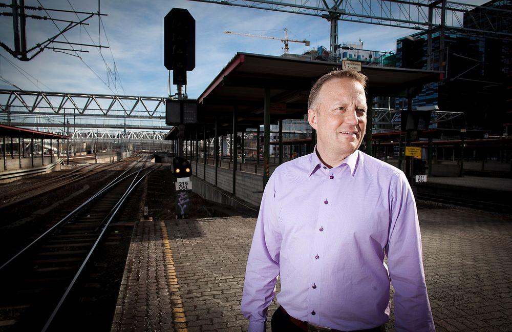 Sponser Norges første jernbanestudium